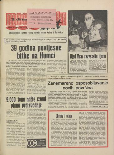 Moslavački list 1981