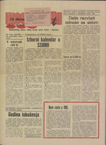 Moslavački list 1985