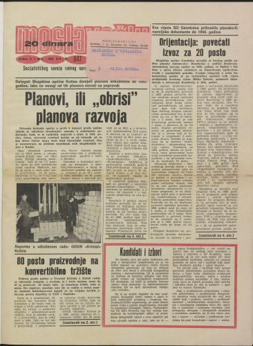 Moslavački list 1986