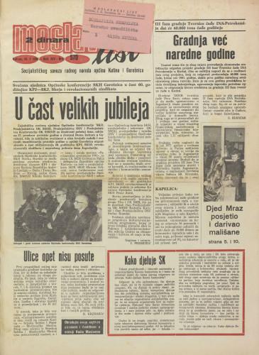 Moslavački list 1980