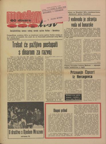Moslavački list 1987