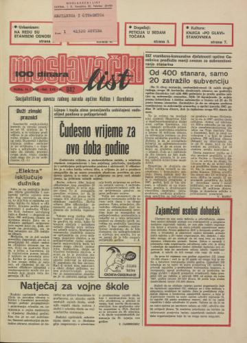 Moslavački list 1988